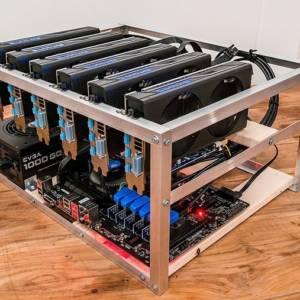 Mining rig Ethereum 6 GPU AMD 180Mhs
